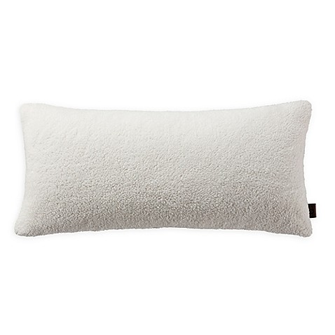 Ugg 174 Sherpa Bolster Throw Pillow In Natural Bed Bath
