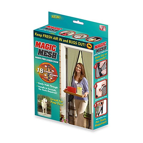 Magic Meshu0026reg; Instant Magnetic Screen Door