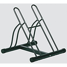 image of Racor®  PBS-2R Two-Bike Floor Bike Stand