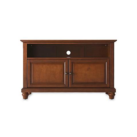 crosley cambridge 42 inch tv stand bed bath beyond. Black Bedroom Furniture Sets. Home Design Ideas