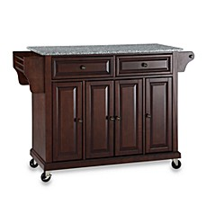 Superieur Crosley Rolling Kitchen Cart / Island With Solid Granite Top