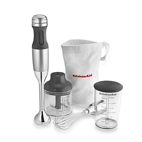 KitchenAid® 3-in-1 Immersion Hand Blender in Silver