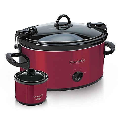 crock pot 6 quart cook carry slow cooker bed bath beyond. Black Bedroom Furniture Sets. Home Design Ideas