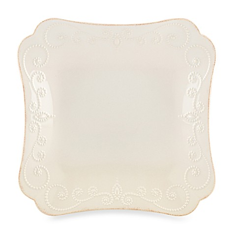 Lenox® French Perle™ Square Dinner Plate in White