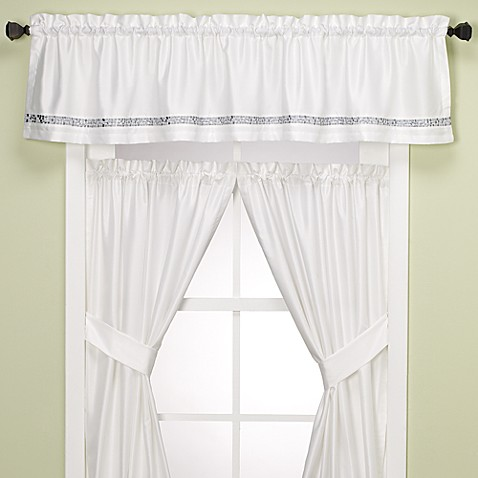 Kitchen Curtains 36 inch kitchen curtains : Kitchen & Bath Curtains - Bed Bath & Beyond