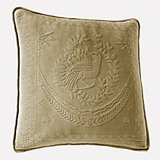 image of Historic Charleston Collection Matelasse 20-Inch Square Pillow