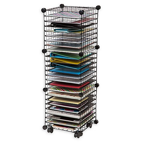 Iris Scrapbook Organizer Cart Bed Bath Beyond