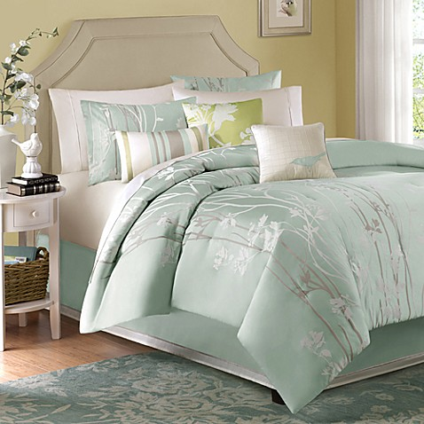 Athena 7-Piece King Jacquard Comforter Set