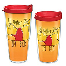 "image of Tervis® Disney Pooh ""I'd Rather Be in Bed"" Wrap Tumbler with Lid"