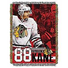 image of NHL Chicago Blackhawks Patrick Kane Player Woven Tapestry Throw Blanket