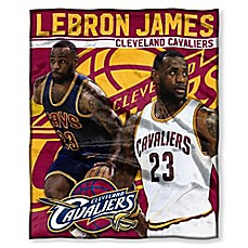image of NBA Cleveland Cavaliers Lebron James Silk Touch Throw Blanket