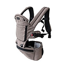 image of MiaMily Hipster Plus 3D baby carrier in Light Grey