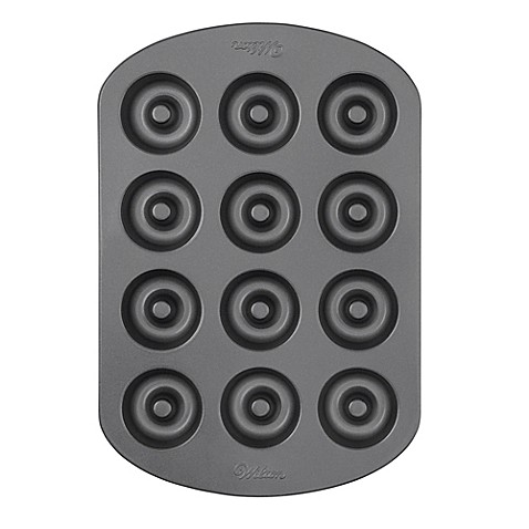Wilton® Nonstick 12-Cavity Mini Doughnut Pan