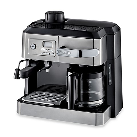 de 39 longhi bco330t combination steam espresso drip coffee cappuccino and latte machine in silver. Black Bedroom Furniture Sets. Home Design Ideas