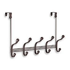 InterDesign® York Lyra Over The Door 5 Hook Rack