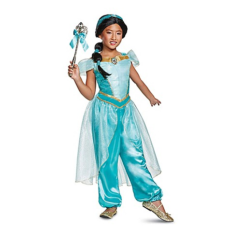 disney size 3 4t aladdin princess jasmine deluxe toddler halloween costume