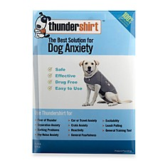 image of Thundershirt™ Grey Dog Anxiety Treatment Shirt