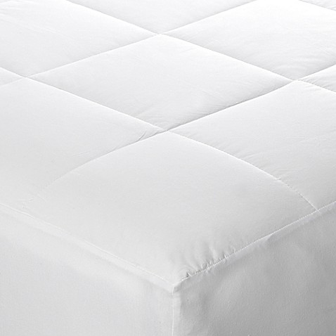 cotton dream all natural cotton filled mattress pad - bed bath