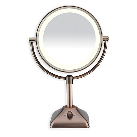Conair® Variable Lighted 1X/10X Mirror Image