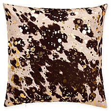 image of Grouchy Goose Cowhide Throw Pillow