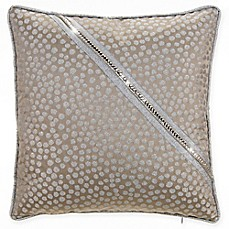 image of Grouchy Goose Glamour Throw Pillow in Gold