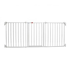 image of Regalo® Flexi Walk-Through Extra Wide Gate