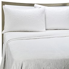 image of KAS® White Squared Quilt