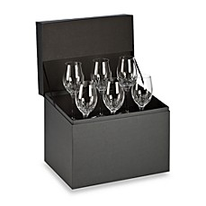 image of Waterford® Lismore Essence White Wine Deluxe Gift Box Buy 5 Get 6 Value Set