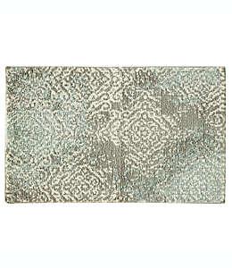 Tapete decorativo de poliéster Bacova Cashlon, 50.8 x 81.28 cm color verde spa