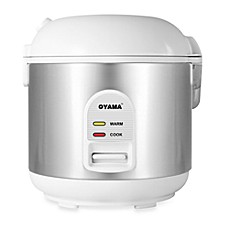 image of Oyama 5-Cup Stainless Steel Rice Cooker, Warmer, Steamer