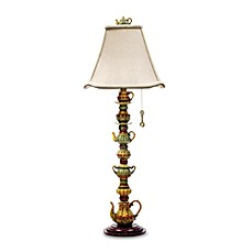 image of Dimond Lighting Tea Service Candlestick Table Lamp