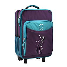 image of O3 Kids Luggage with Integrated Cooler in Butterfly