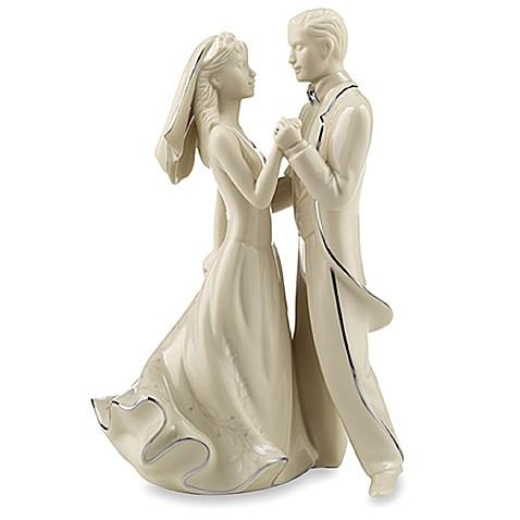 Lenox Wedding Promises First Dance Cake Topper Bed Bath Beyond - Mikasa Wedding Cake Topper