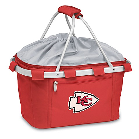 Picnic Time® Kansas City Chiefs Metro Insulated Basket in Red