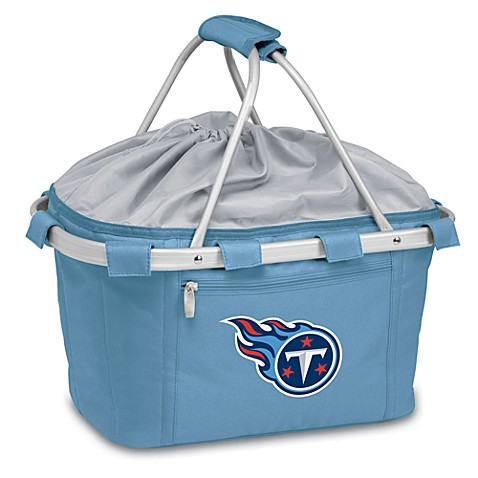 Picnic Time® Tennessee Titans Metro Insulated Basket in Light Blue