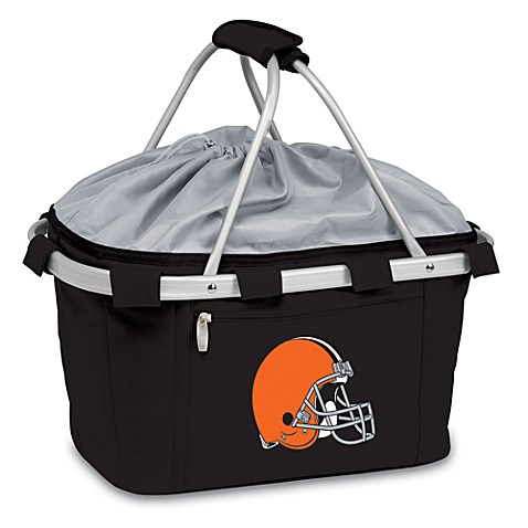 Picnic Time® Cleveland Browns Metro Insulated Basket in Black