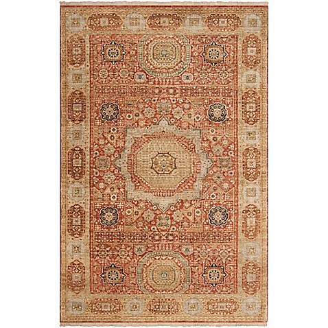 Surya Felix 9' x 13' Handwoven Area Rug in Tan/Cream