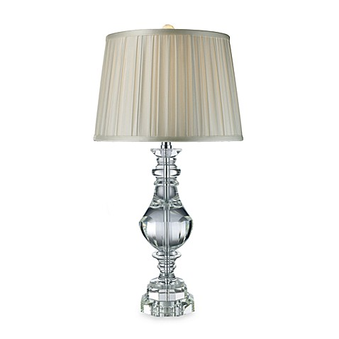 Dimond Lighting Donaldson Clear Crystal Table Lamp