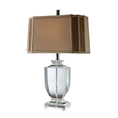 Dimond Lighting Layfette Clear Crystal Table Lamp Bed
