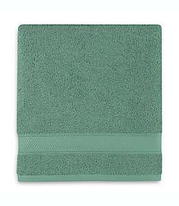 Toalla de medio baño de algodón Wamsutta® Hygro® Duet color verde abeto