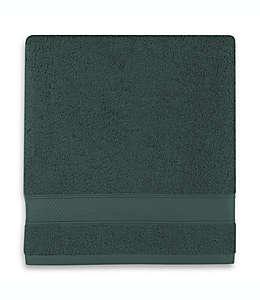 Toalla de medio baño de algodón Wamsutta® Hygro® Duet color verde bosque