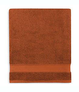 Toalla de baño de algodón Wamsutta® Hygro® Duet color rojo arcilla