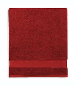 Toalla de baño de algodón Wamsutta® Hygro® Duet color vino