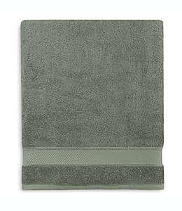 Toalla de baño de algodón Wamsutta® Hygro® Duet color verde salvia