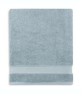 Toalla de baño de algodón Wamsutta® Hygro® Duet color azul mar