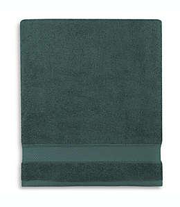 Toalla de baño de algodón Wamsutta® Hygro® Duet color verde bosque