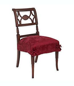 Fundas otoñales para asiento con diseño de enredadera en vino, Set de 2