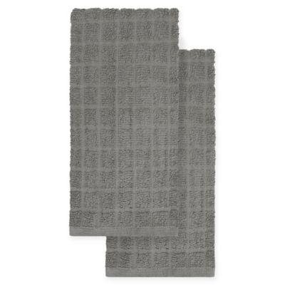 kitchensmart colors 2 pack solid kitchen towels - Kitchen Towel Sets