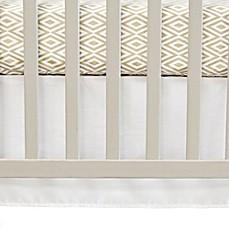 Crib Skirts White Amp Pink Crib Bed Skirts Buybuy Baby