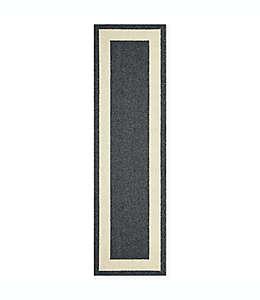 Tapete para pasillo Maples™ con borde clásico de 60.96 cm x 2.13 m en gris brezo/arena